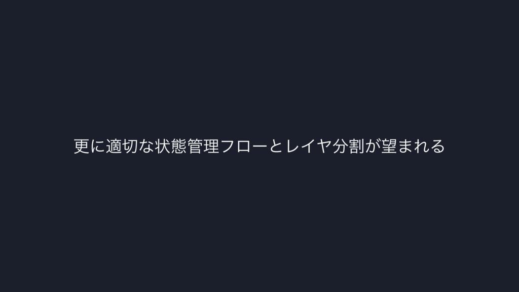 ߋʹదͳঢ়ଶཧϑϩʔͱϨΠϠׂ͕·ΕΔ