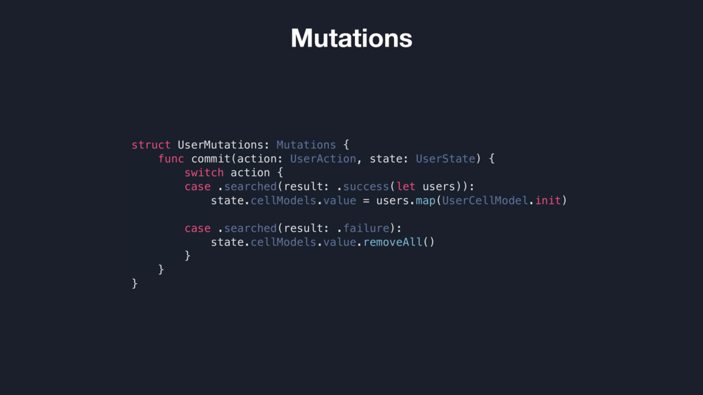 struct UserMutations: Mutations { func commit(a...