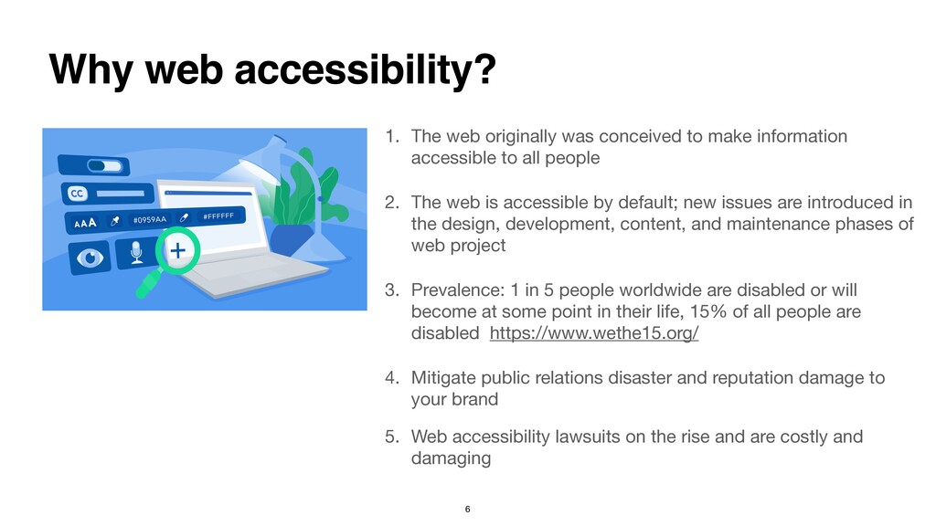 1. The web originally was conceived to make inf...