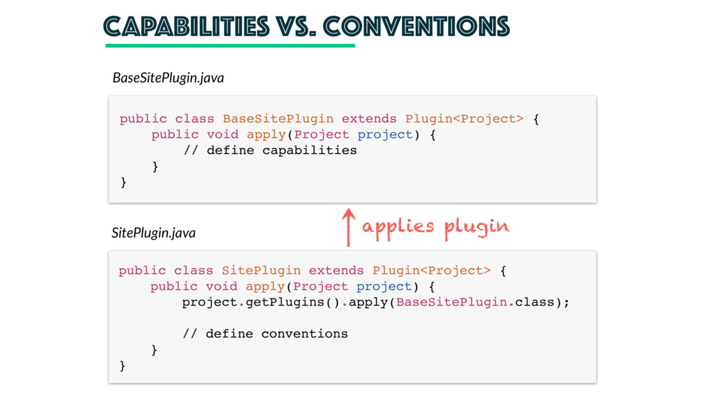 CAPAbilities vs. conventions public class BaseS...