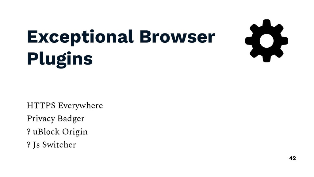 Exceptional Browser Plugins HTTPS Everywhere Pr...