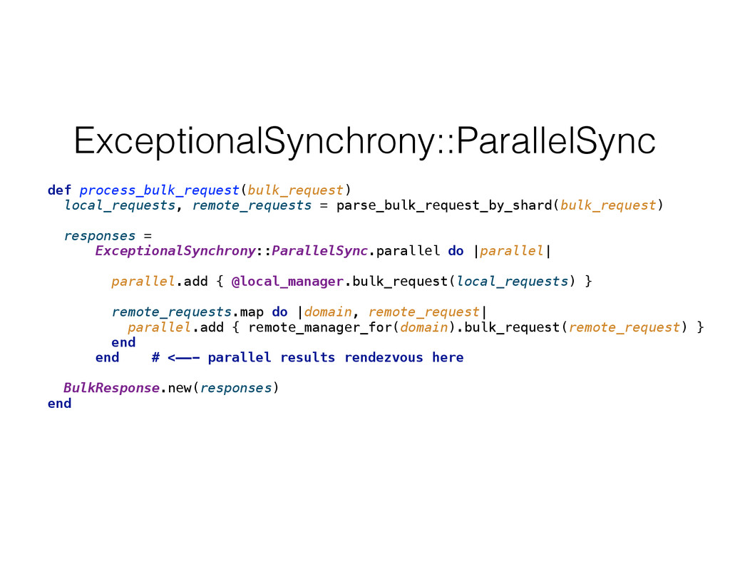 ExceptionalSynchrony::ParallelSync def process_...