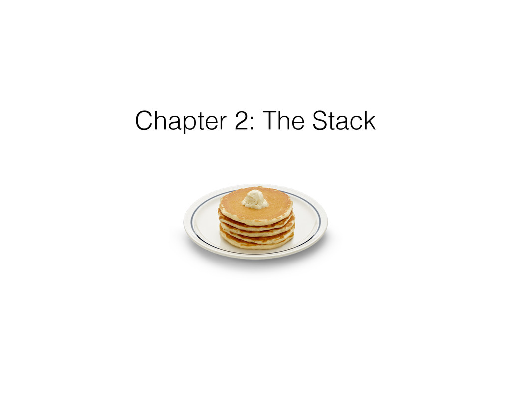 Chapter 2: The Stack