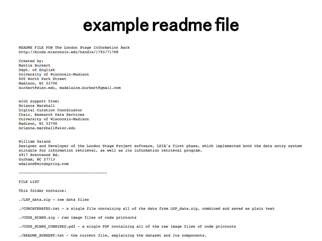 example readme file!
