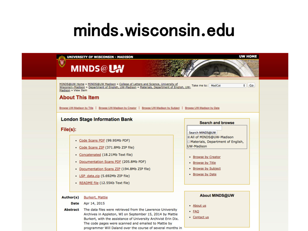 minds.wisconsin.edu!
