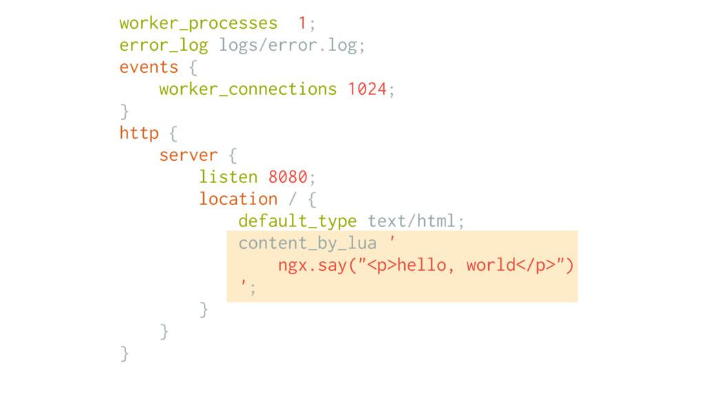 worker_processes 1; error_log logs/error.log; e...