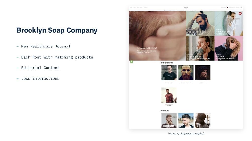 Brooklyn Soap Company – Men Healthcare Journal ...