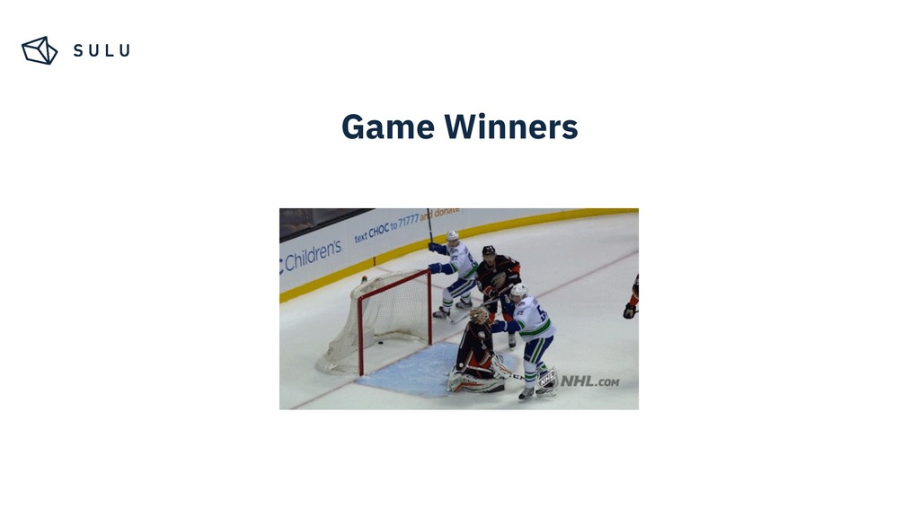 Game Winners