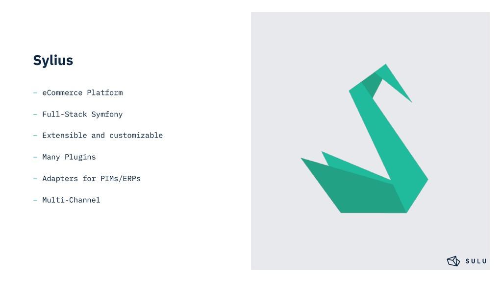Sylius – eCommerce Platform – Full-Stack Symfon...