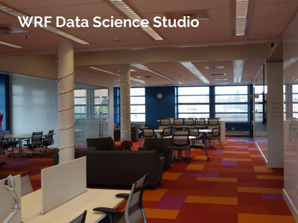 Jake VanderPlas WRF Data Science Studio