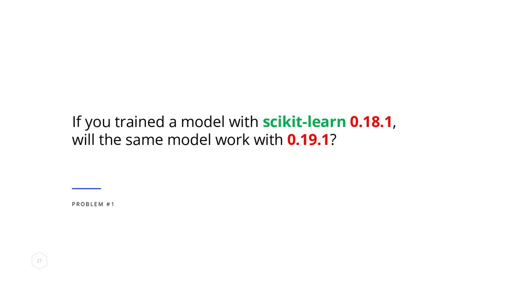 If you trained a model with scikit-learn 0.18.1...