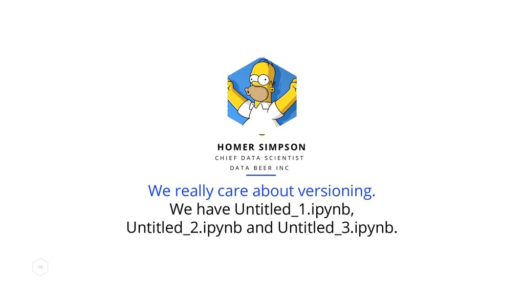 We really care about versioning. We have Untitl...