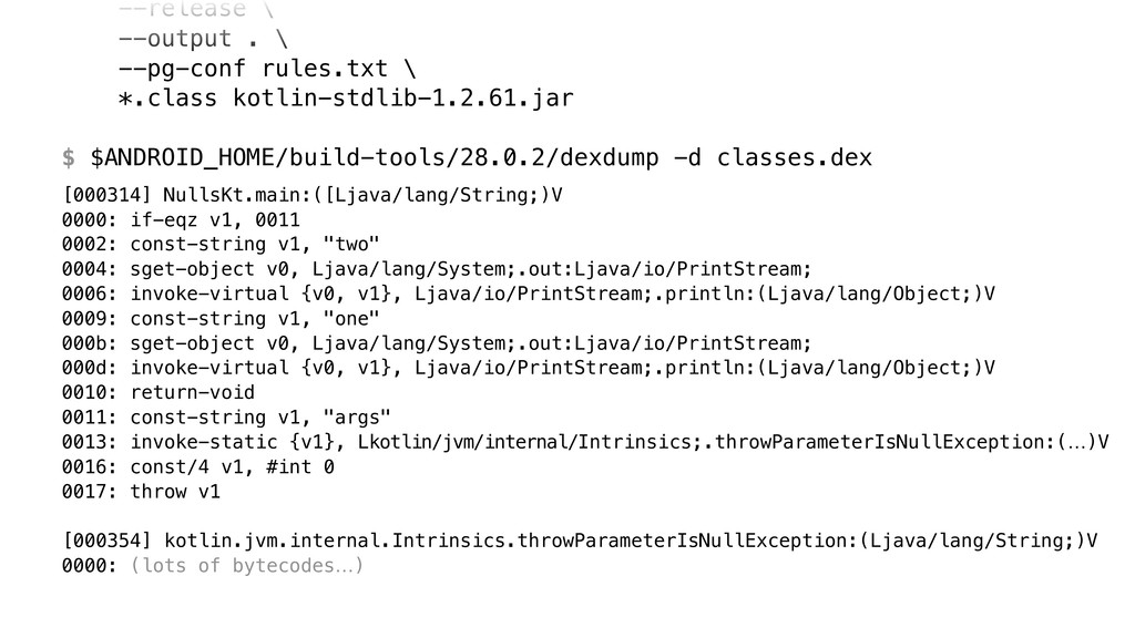 --release \ --output . \ --pg-conf rules.txt ...