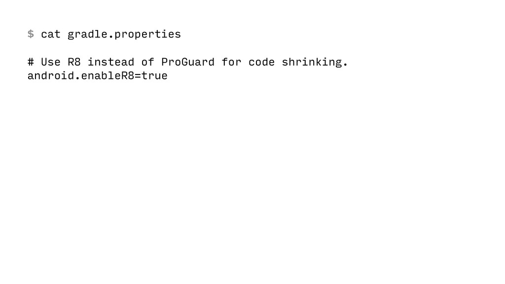 $ cat gradle.properties
