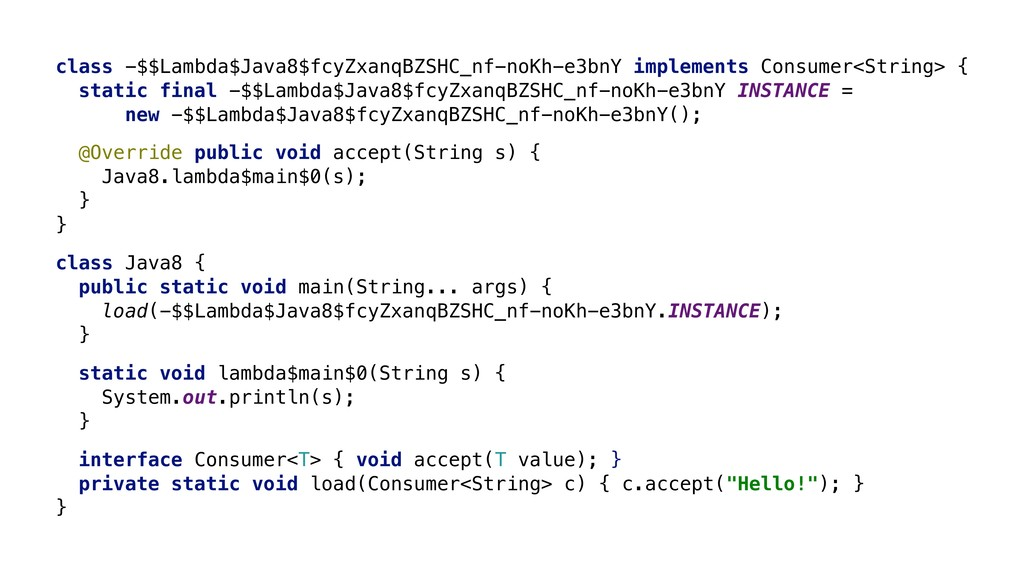 class -$$Lambda$Java8$fcyZxanqBZSHC_nf-noKh-e3b...