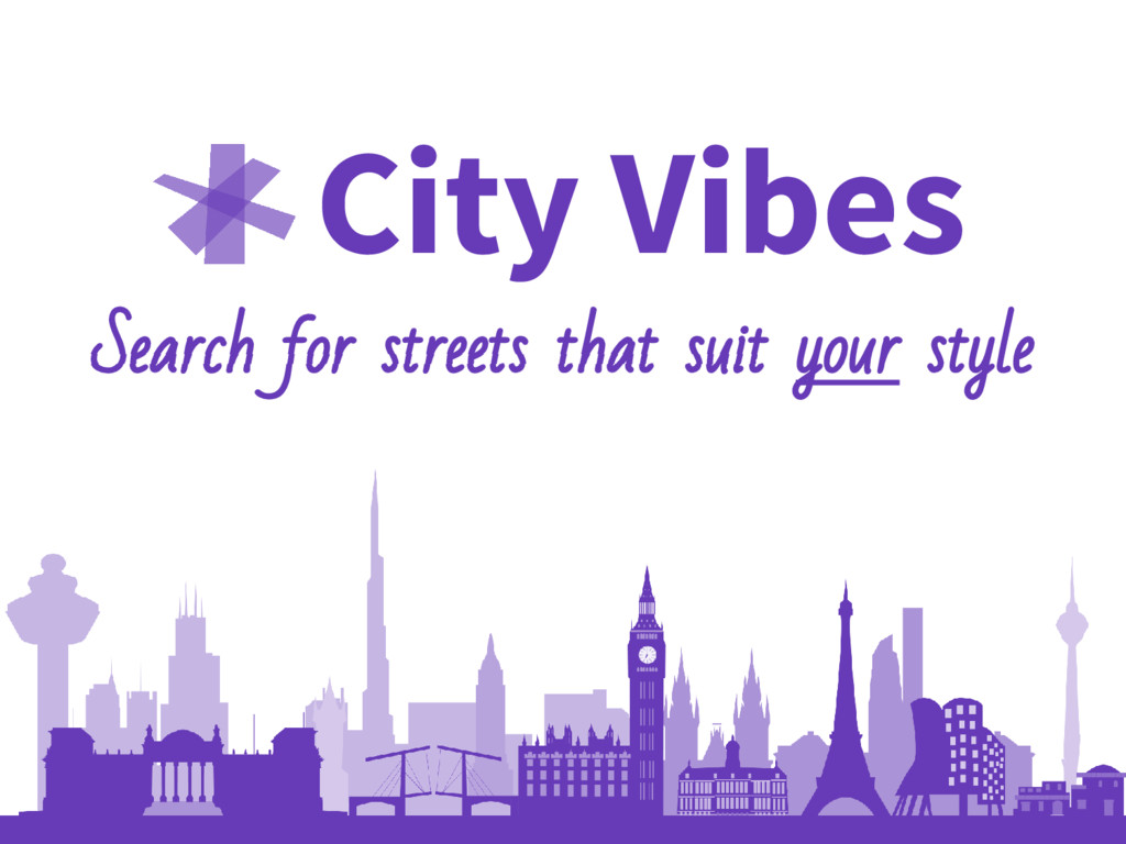 City Vibes Search for streets that suit your st...