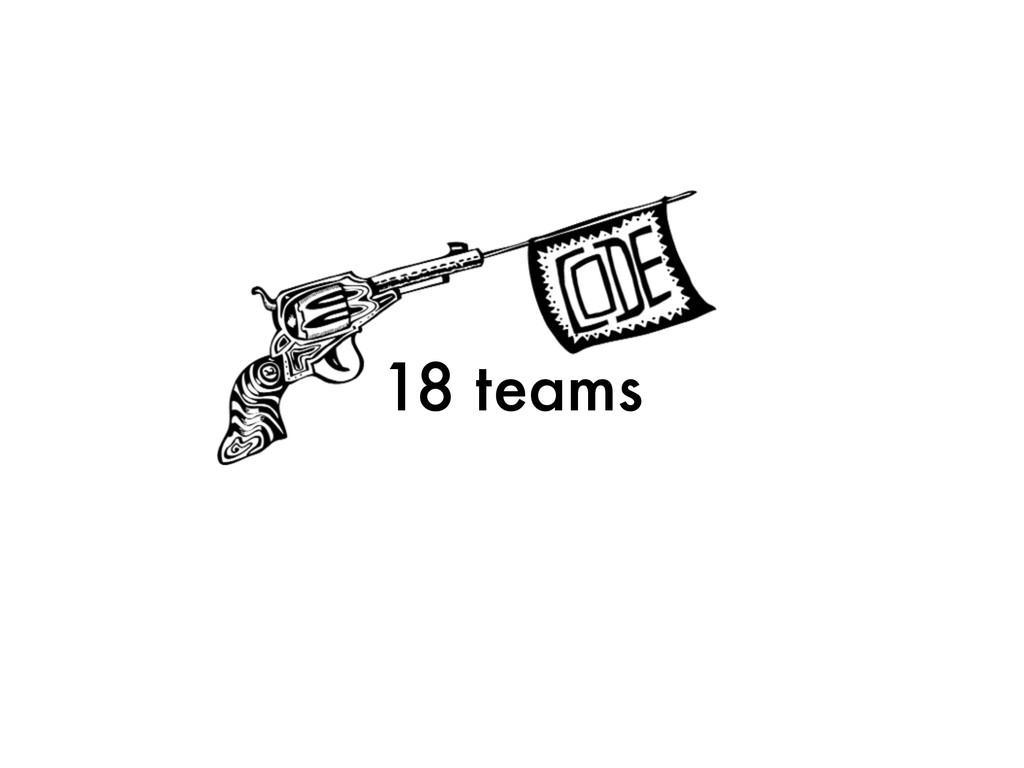 18 teams