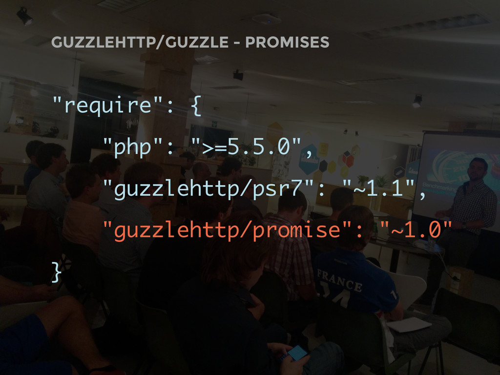 "GUZZLEHTTP/GUZZLE - PROMISES ""require"": { ""php""..."