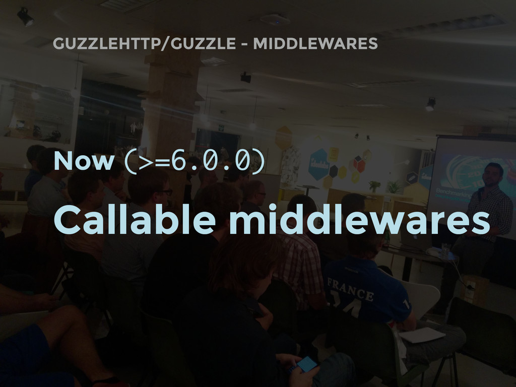 GUZZLEHTTP/GUZZLE - MIDDLEWARES Now (>=6.0.0) C...