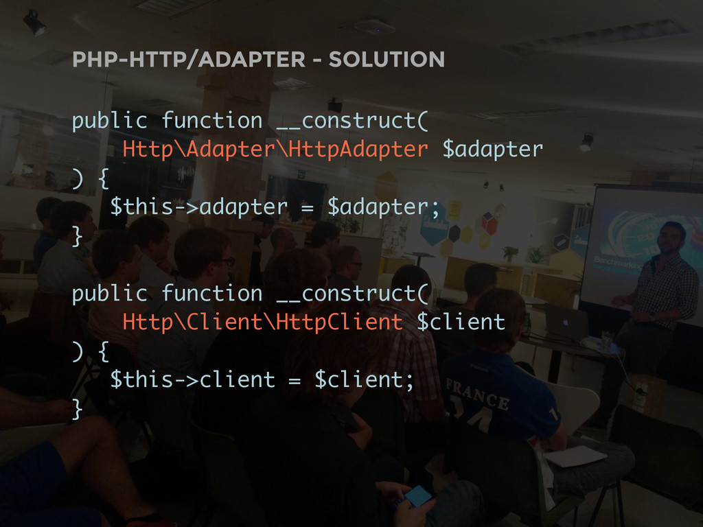 PHP-HTTP/ADAPTER - SOLUTION public function __c...