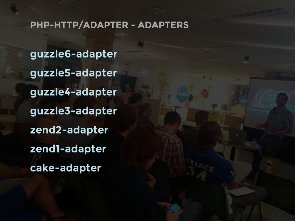 PHP-HTTP/ADAPTER - ADAPTERS guzzle6-adapter guz...