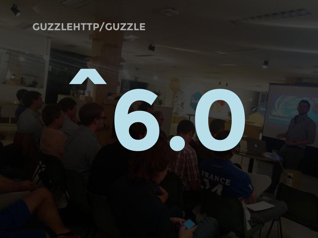 GUZZLEHTTP/GUZZLE ^6.0