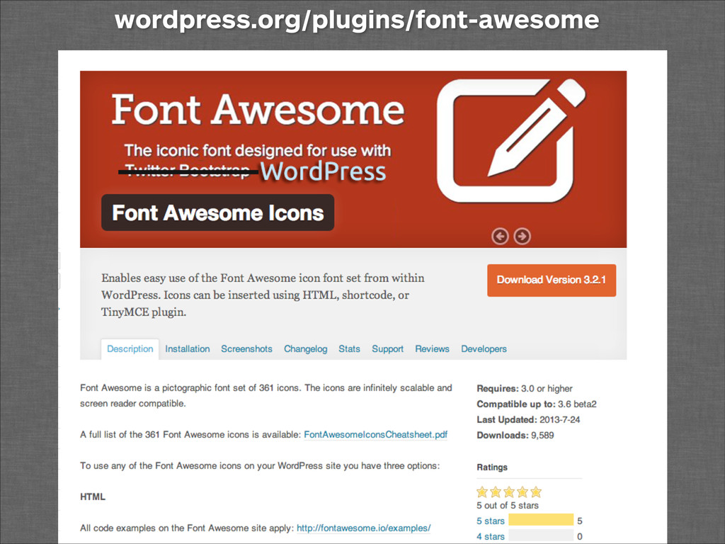 wordpress.org/plugins/font-awesome