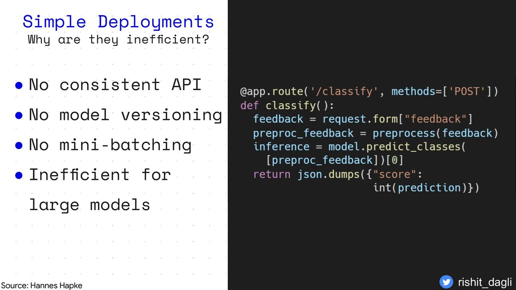 Simple Deployments Why are they inefficient? ● N...
