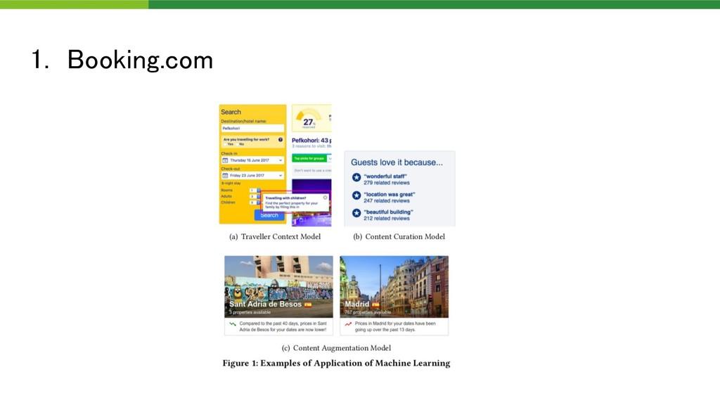 1. Booking.com