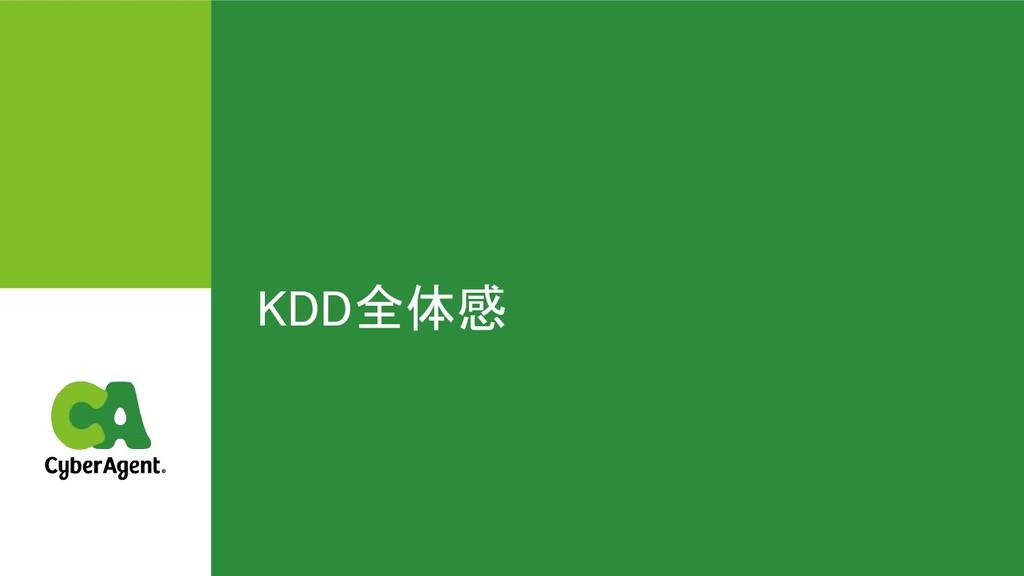 KDD全体感