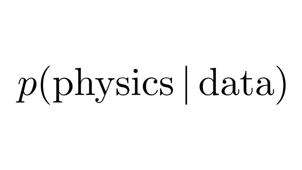 p(physics   data)