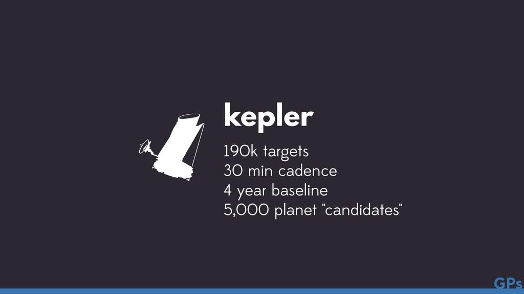 kepler 190k targets 30 min cadence 4 year basel...
