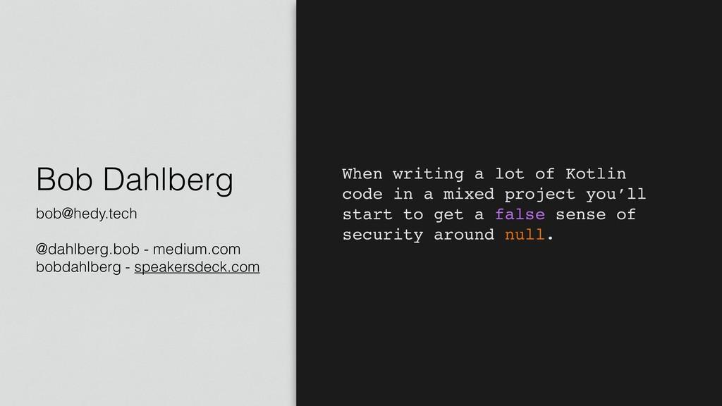 Bob Dahlberg bob@hedy.tech @dahlberg.bob - medi...