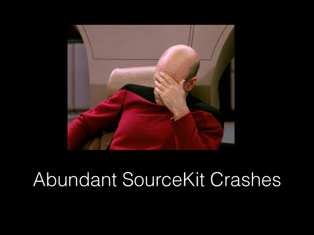 Abundant SourceKit Crashes