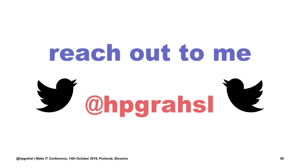 reach out to me @hpgrahsl @hpgrahsl | Make IT C...