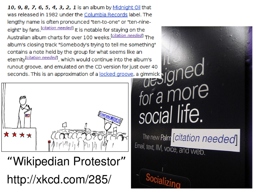 """""""Wikipedian Protestor"""" http://xkcd.com/285/"""