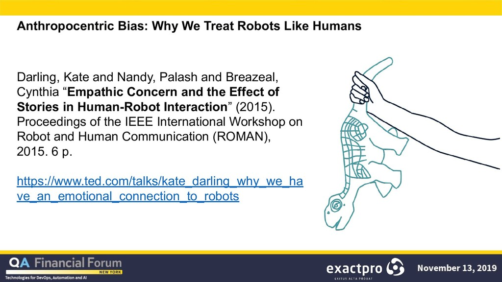 Anthropocentric Bias: Why We Treat Robots Like ...