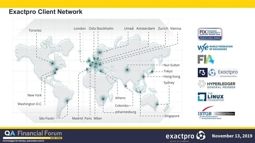 Exactpro Client Network