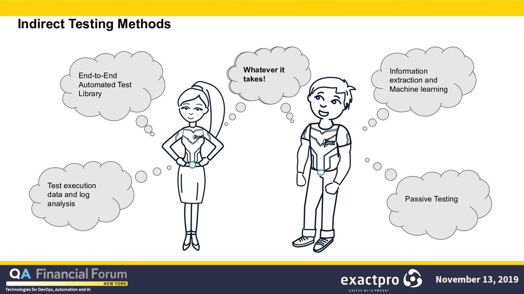 Indirect Testing Methods Information extraction...