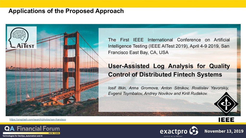 Applications of the Proposed Approach https://u...
