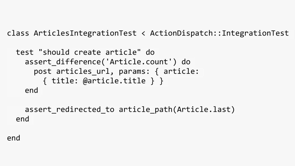class ArticlesIntegrationTest < ActionDispatch:...