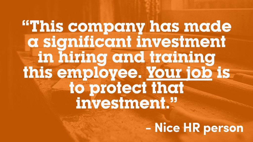 """""""This company has made a significant investment..."""