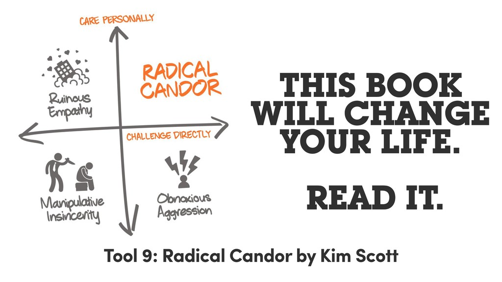 THIS BOOK WILL CHANGE YOUR LIFE. READ IT. Tool ...