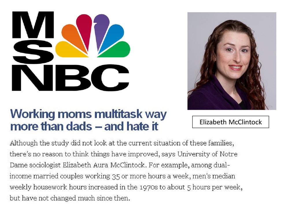 Elizabeth McClintock