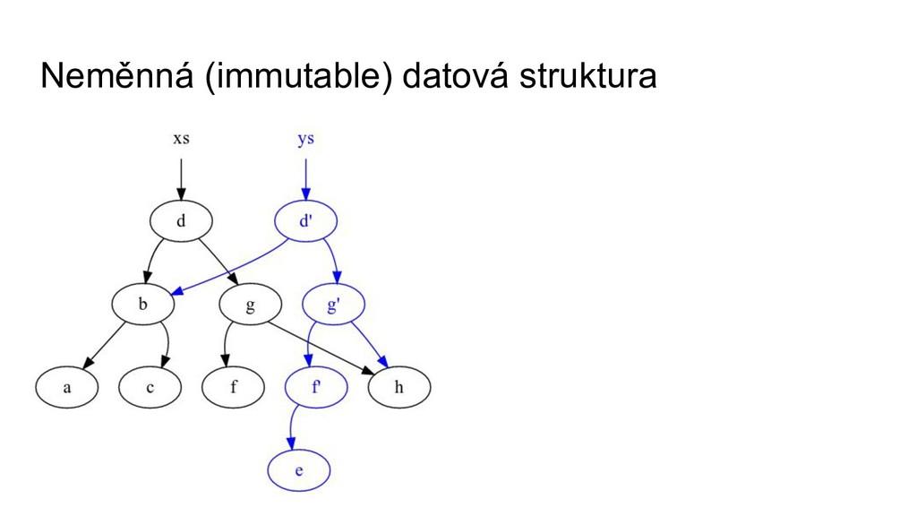 Neměnná (immutable) datová struktura