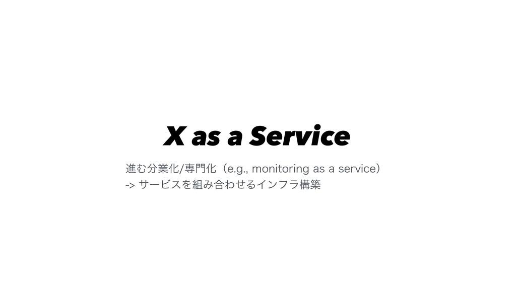 X as a Service ਐΉۀԽઐԽʢFHNPOJUPSJOHBTB...