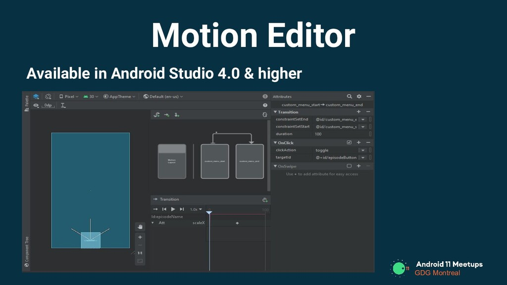 GDG Montreal Available in Android Studio 4.0 & ...