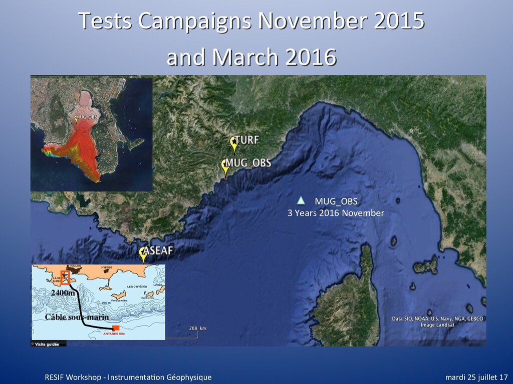 Tests Campaigns November 2015 and March 2016 Câ...