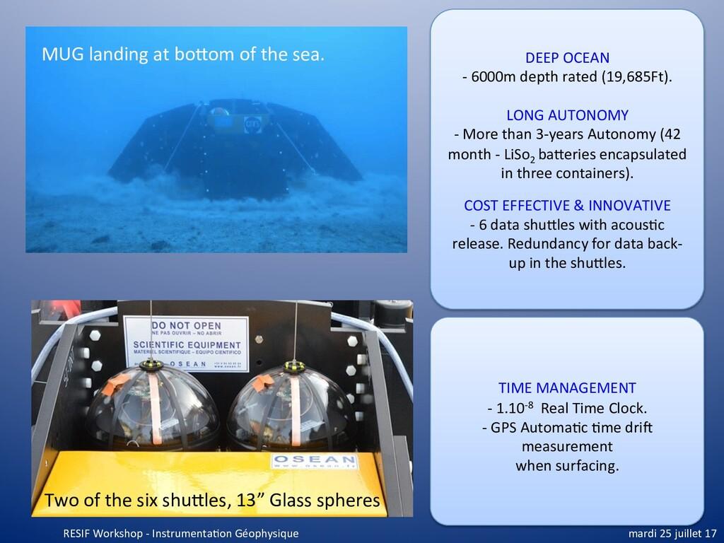 DEEP OCEAN - 6000m depth rated (19,685Ft). LONG...