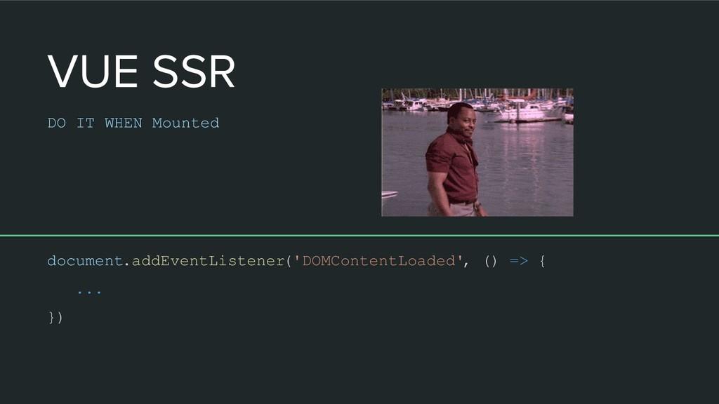 document.addEventListener('DOMContentLoaded', (...